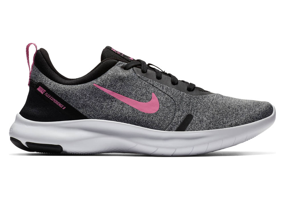 4a76ee61361f Womens Nike Flex Experience RN 8 Runner Gray Pink in Gray