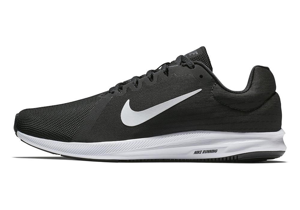 Mens Nike Downshifter 8 4E Runner Black/Gray
