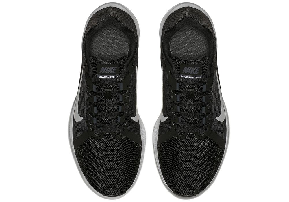 b41ede1669ba Mens Nike Downshifter 8 4E Runner Black Gray in Black