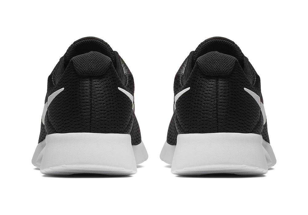 Mens Nike Tanjun Runner 4e Black White