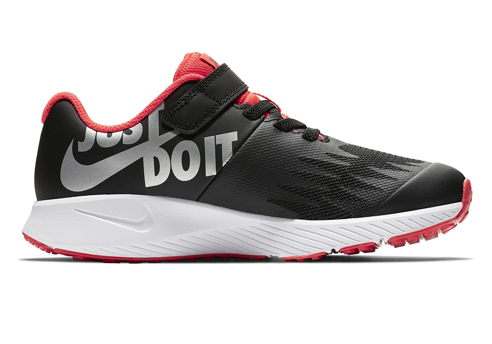 Boys Nike Star Runner Jdi Black Red