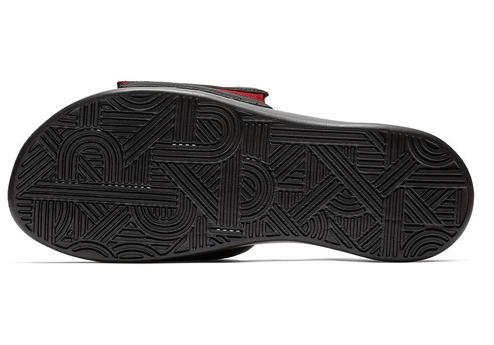 Mens Nike Ultra Comfort Slide Black Red