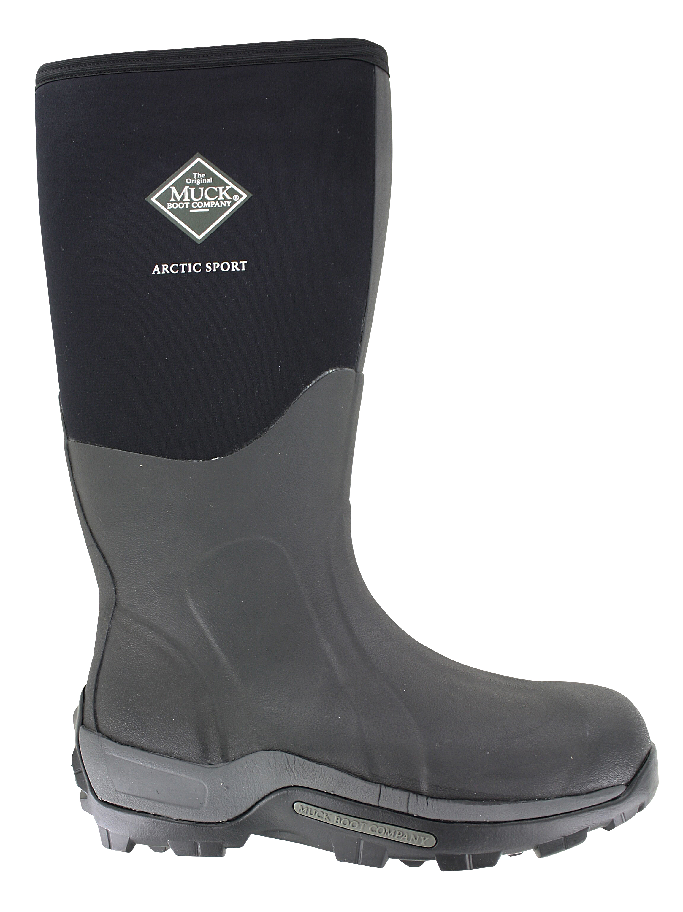 Mens Muck Artic Sport Hi Waterproof Boot Black