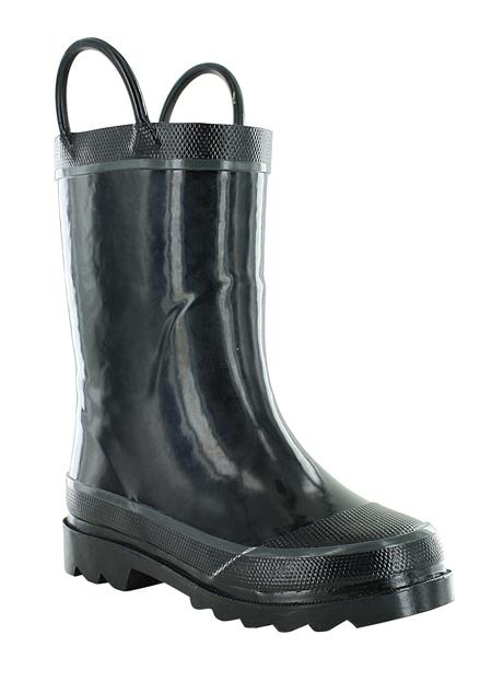 Boys Washington Shoe Company Rain Boot Black