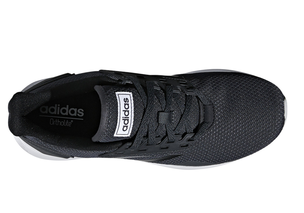 Womens Adidas Duramo 9 Runner Black White in Black b366d528b