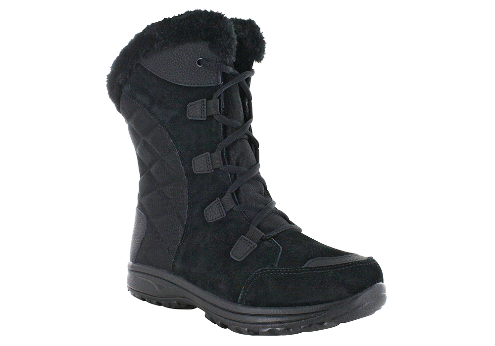 Womens Columbia Ice Maiden Ii Waterproof Boot Black