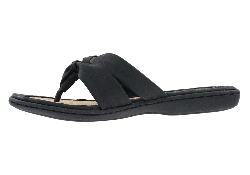 7a18e239d8da0 Womens BOC Sequin Thong Black in Black