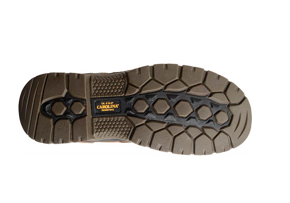 Mens Carolina 6 Quot Big Dog Slip Resistant Waterproof Brown