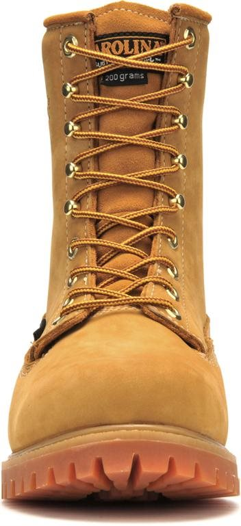 Mens Carolina 8 Quot Waterproof 200g Insulated Boot Wheat