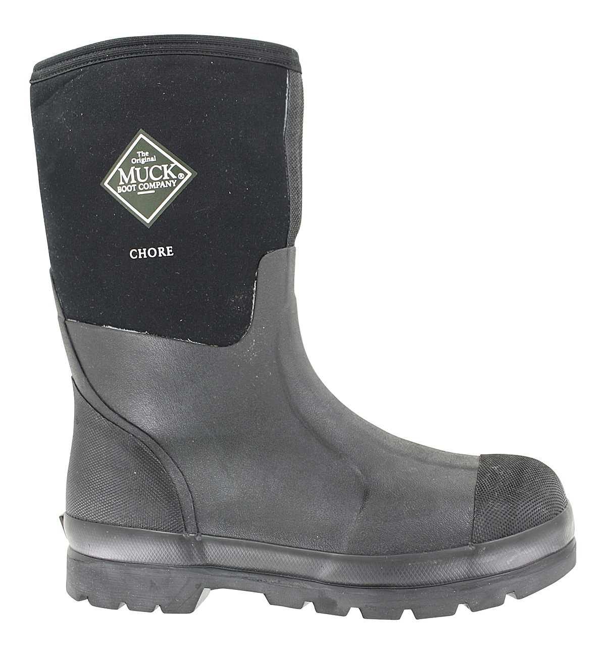 Mens Muck Chore Mid Waterproof Boot Black