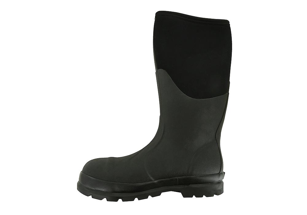 e54b8ec5308 Mens Muck Chore Steel Toe Mid Waterproof Boot Black