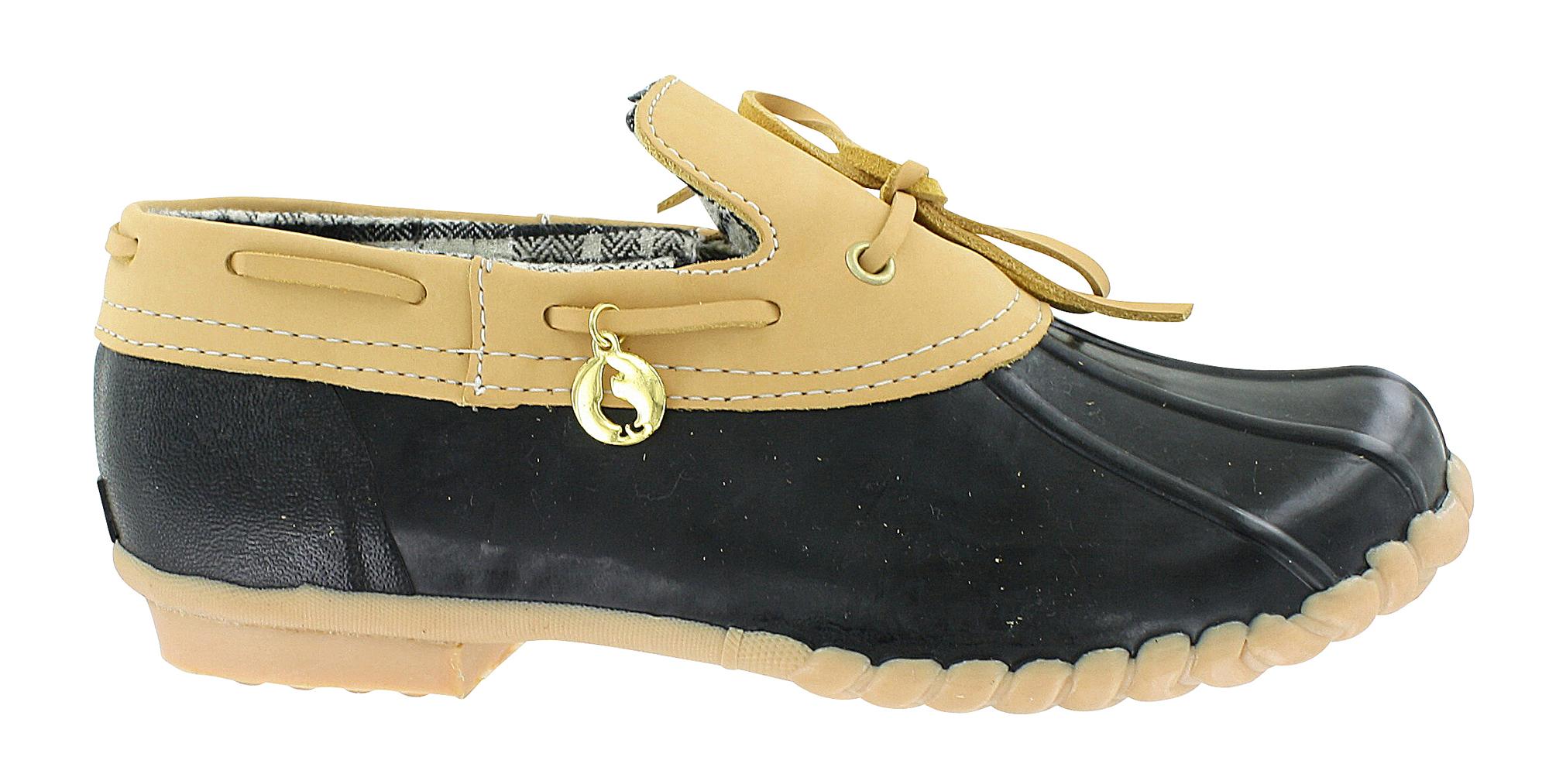 Women's Xhilaration^ Zanthe Duck Shoes - Navy : Target