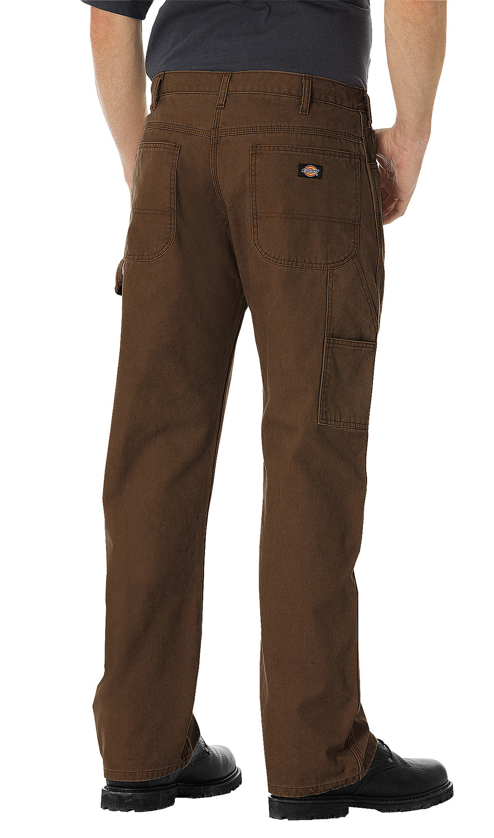 Mens Dickies Lw Carpenter Pants Brown