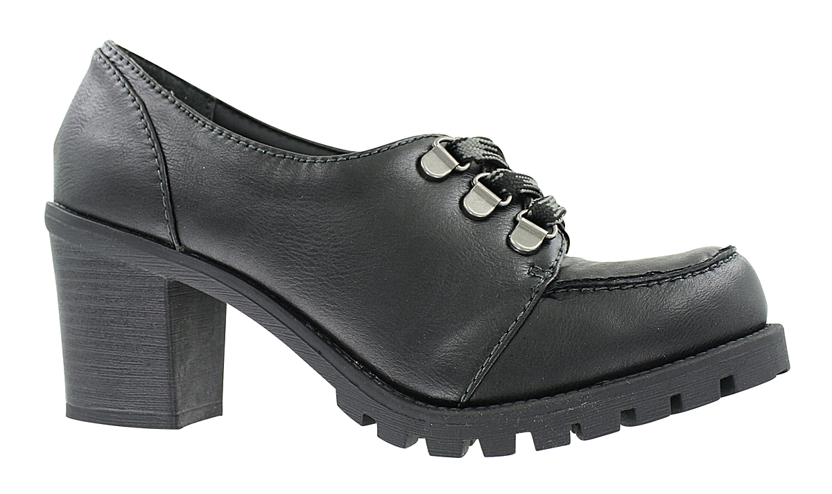 Womens Jellypop Durbin Oxford Black