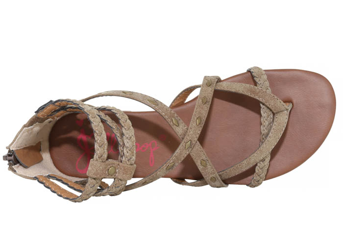 3a2f925713f8 Womens Jellypop Ireland Gladiator Brown in Brown