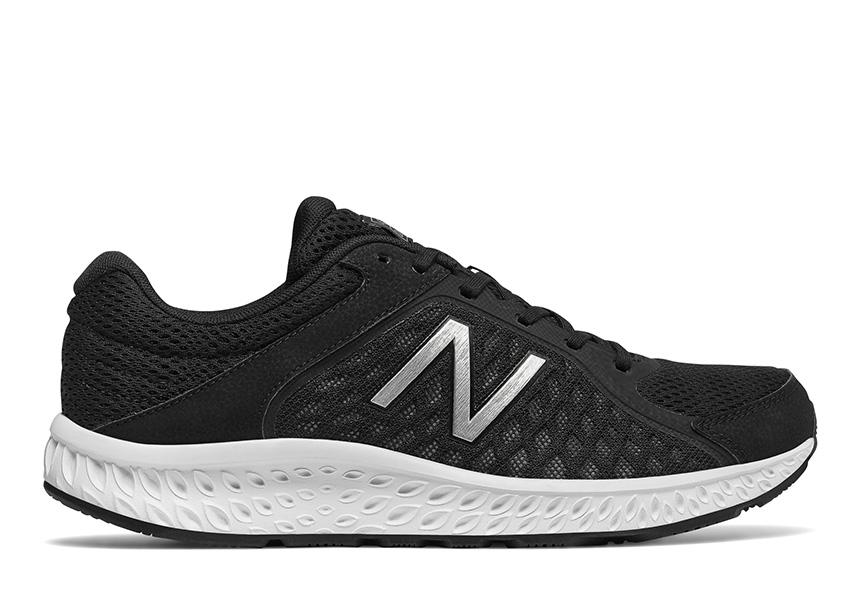 Mens New Balance 420v4 Comfort Runner Black White
