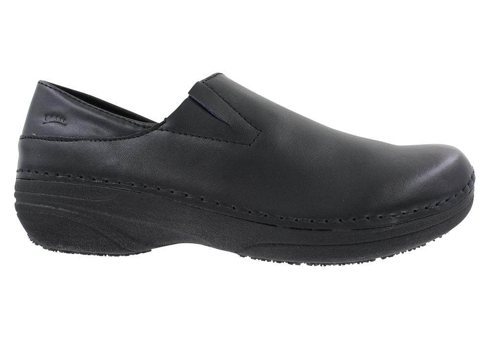 womens spring step professional manila slip black