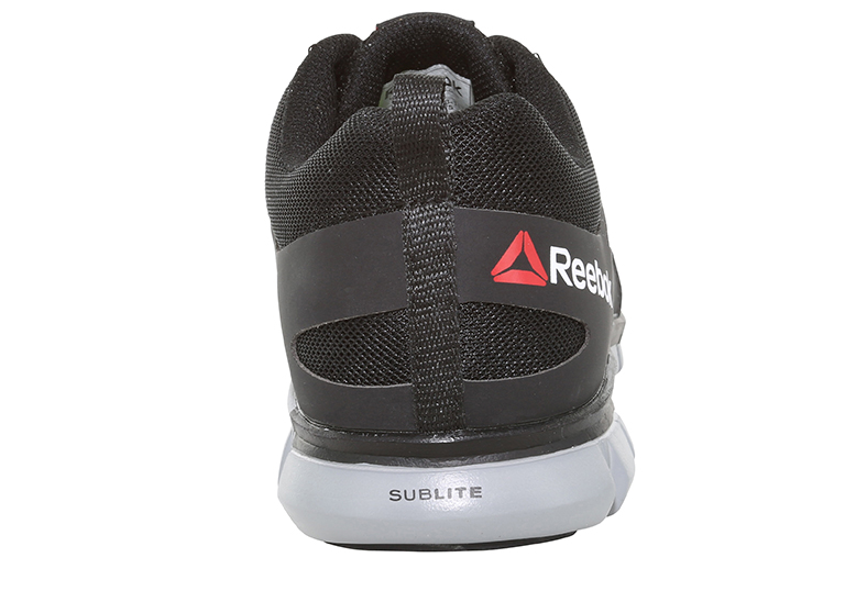 Mens Reebok Work Alloy Toe Sr Eh Sublite Athletic Black Gray