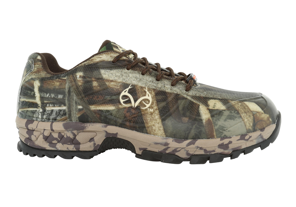 Mens Realtree Outfitters Composite Toe Copperhead Athletic Camouflage in  Camouflage