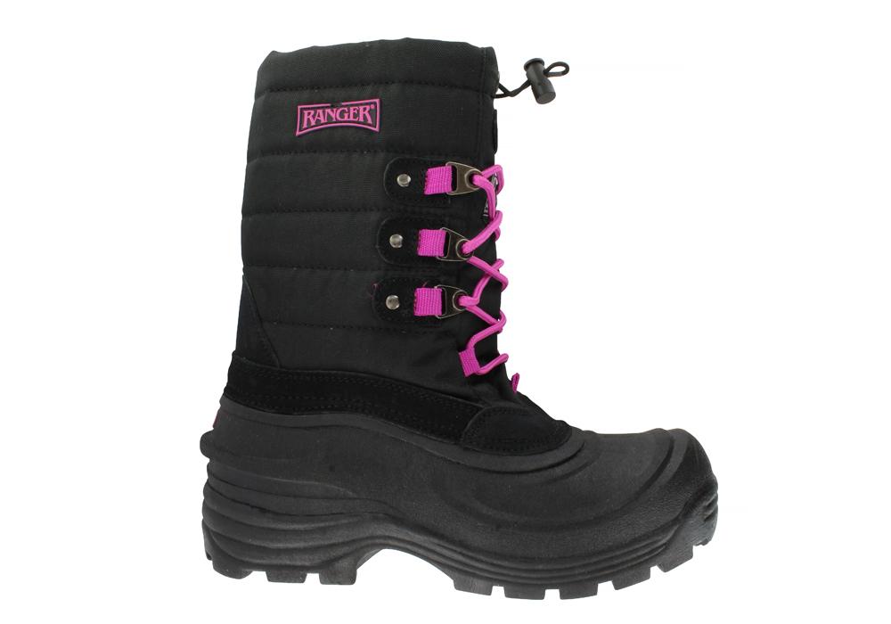 Womens Ranger Tundra Ii Boot Black Pink