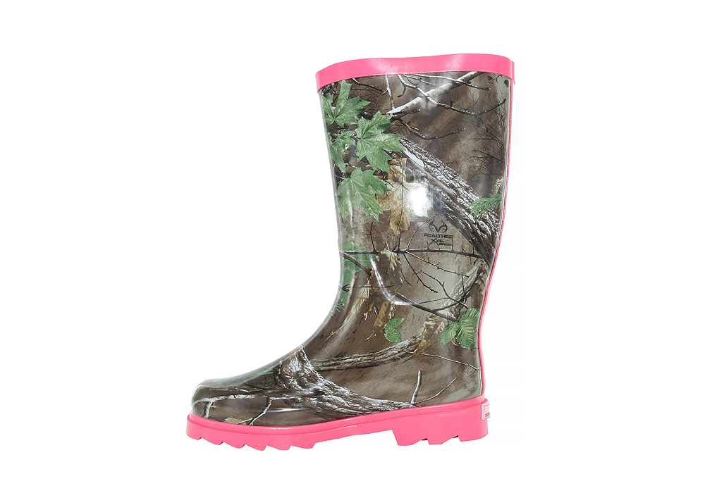 womens realtree ms jo jo boot pink camouflage