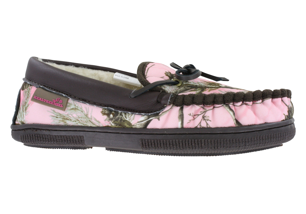Womens > Casual Shoes > Slippers > Womens Realtree Girl Ms Cabin Moc