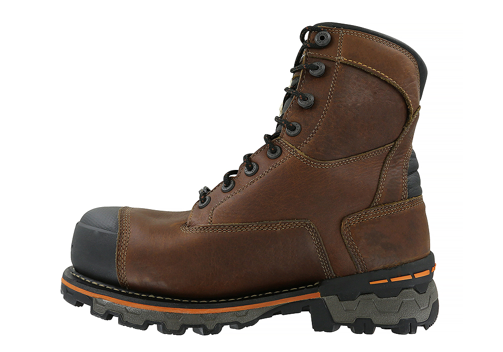 Mens Timberland Pro 8 Quot Composite Toe 600g Wp Boondock Brown