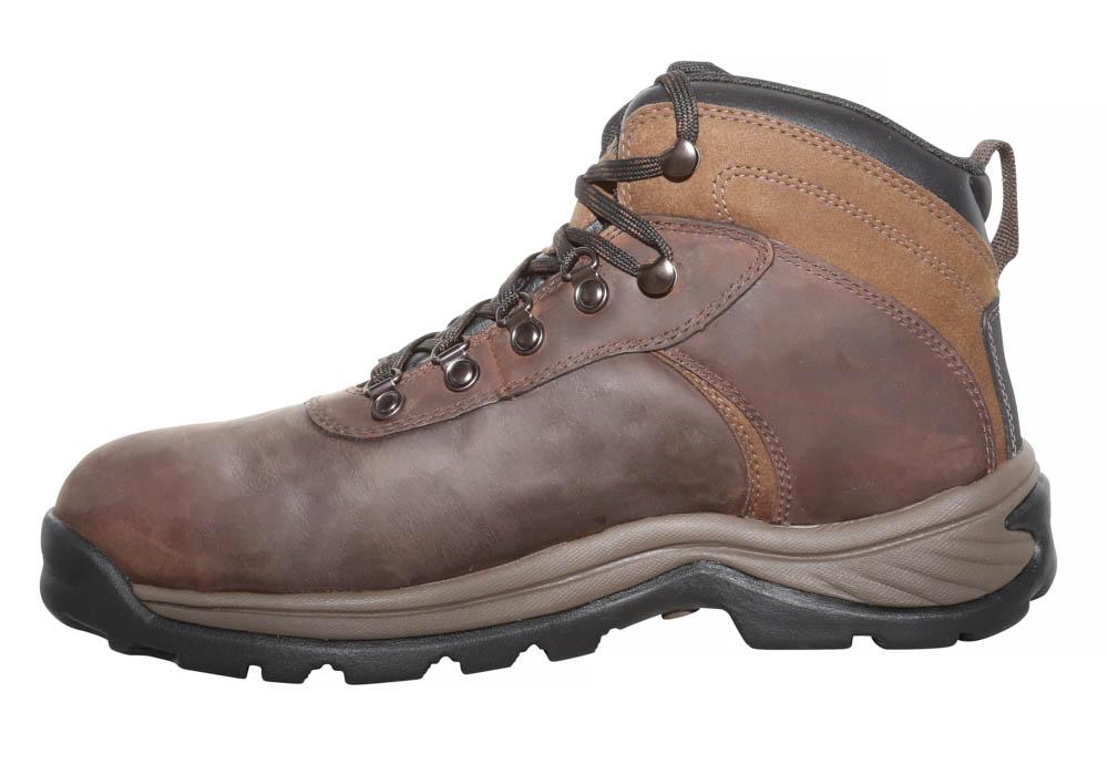 Mens Timberland Pro Steel Toe Waterproof Flume Hiker Brown