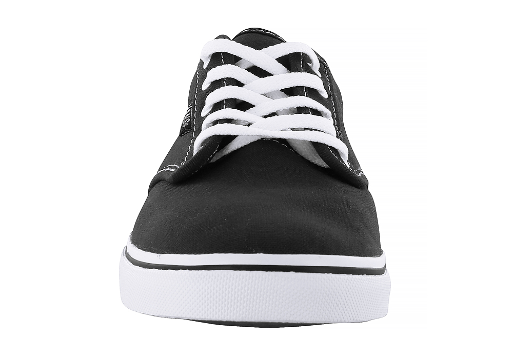 18a4a476ca48b5 Womens Vans Atwood Low Canvas Black White in Black