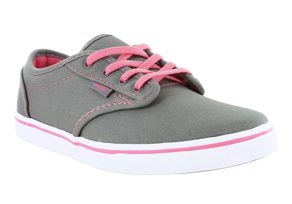 girls grey vans  eBay