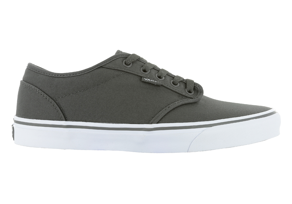 76274b720e4 Mens Vans Atwood Canvas Gray White in Gray