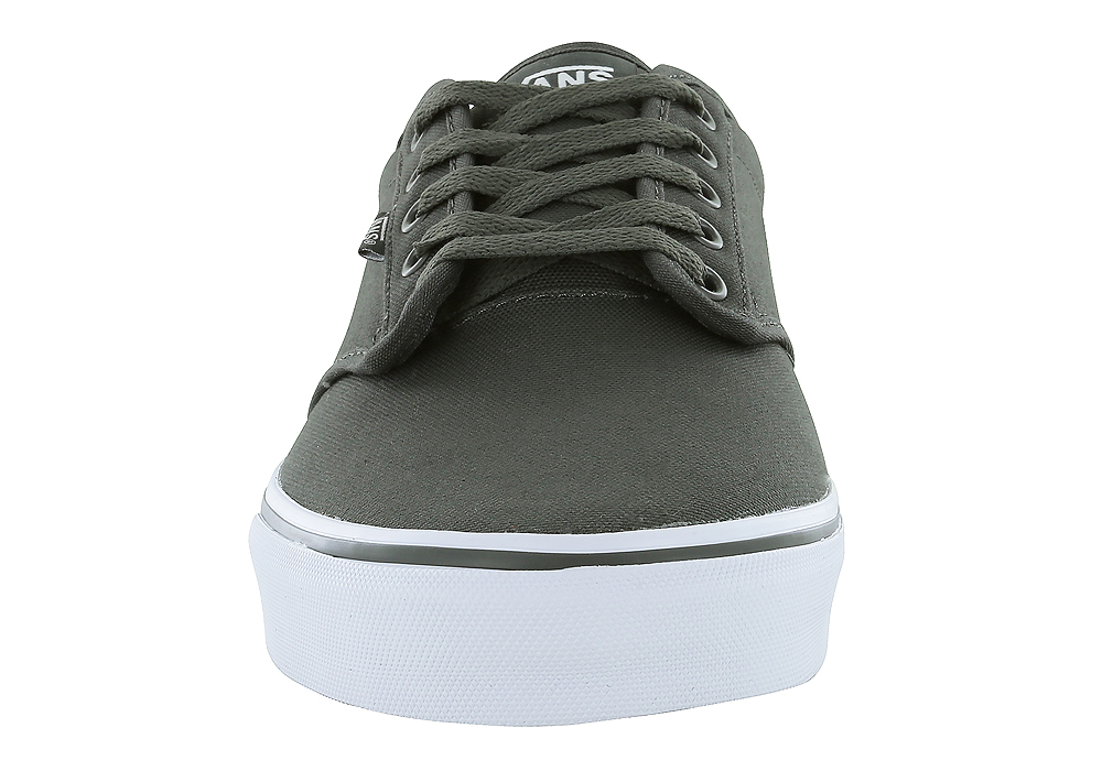 604fa0c1e8 Mens Vans Atwood Canvas Gray White in Gray