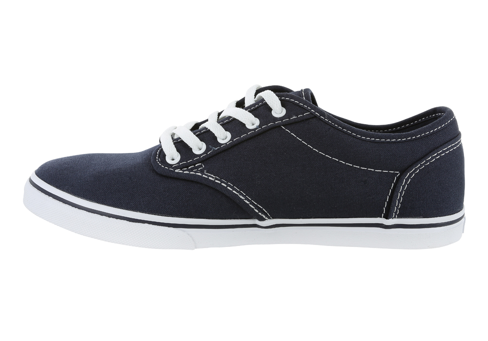 Womens Vans Atwood Low Canvas Navy/White