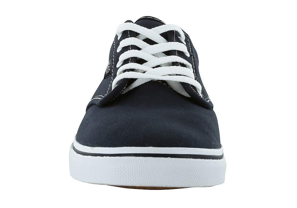 7de8582e32f1 Womens Vans Atwood Low Canvas Navy White in Blue
