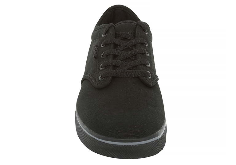 64b94acc12 Womens Vans Atwood Low Canvas Black in Black