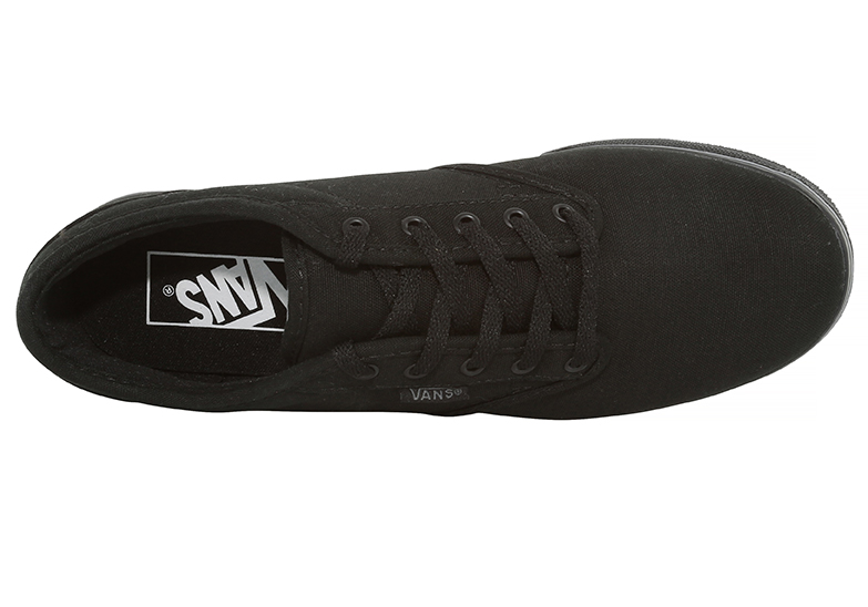 Womens Vans Atwood Low Canvas Black