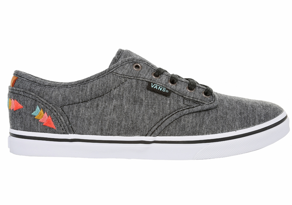 womens vans atwood low grey
