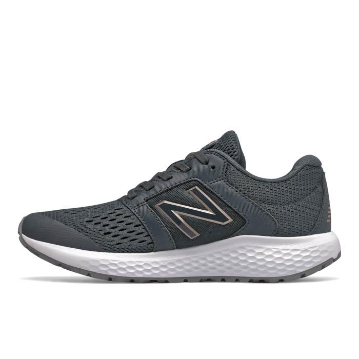 best sneakers ca515 85be6 Womens New Balance 520v5 Comfort Ride Dark Gray/Rose Gold