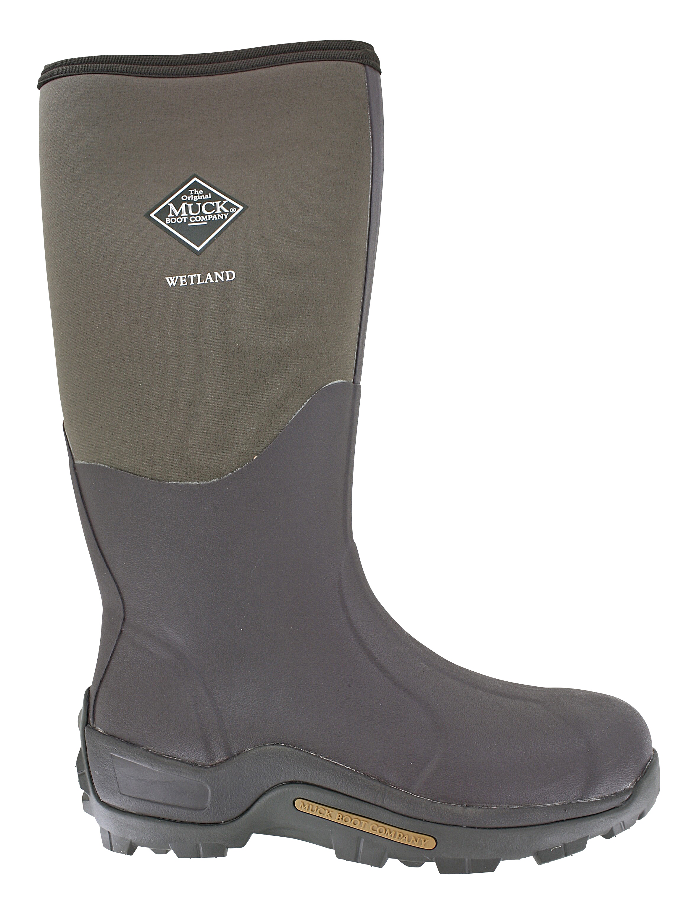 Mens Muck Wetland Waterproof Boot Bark