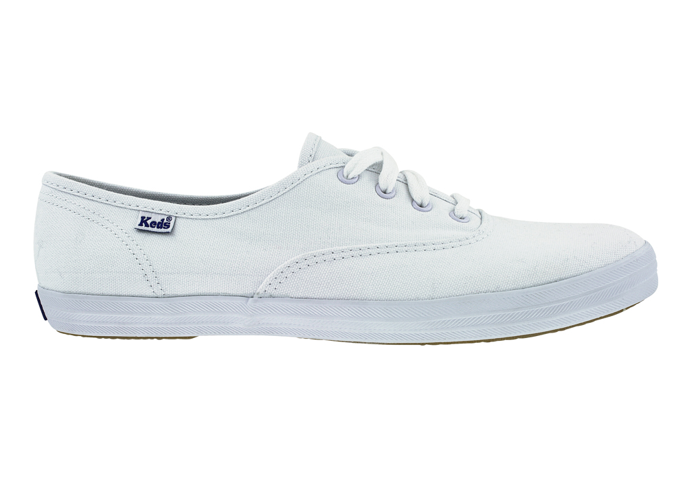 3d23fde90e0c5b Womens Keds Champion Oxford White in White