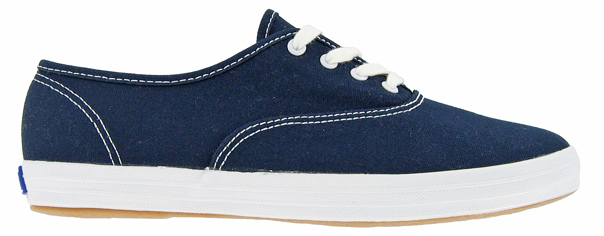 navy blue leather keds for women