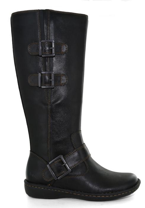 Womens Boc Virginia Side Zip Boot Black
