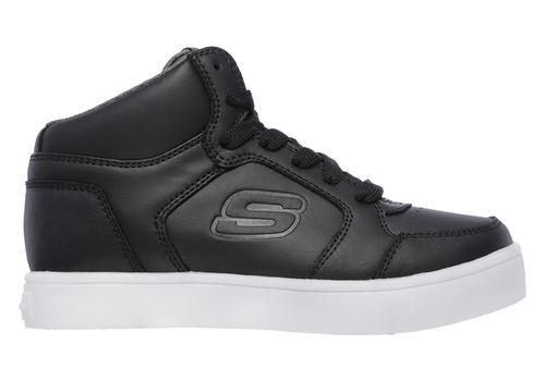 skechers kids black shoes