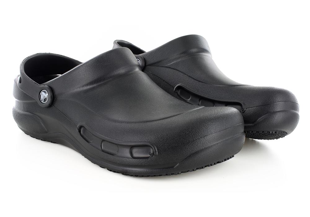 dddbfcbdc Mens   Casual Shoes   Mens Crocs Bistro Slip Resistant Clog Black