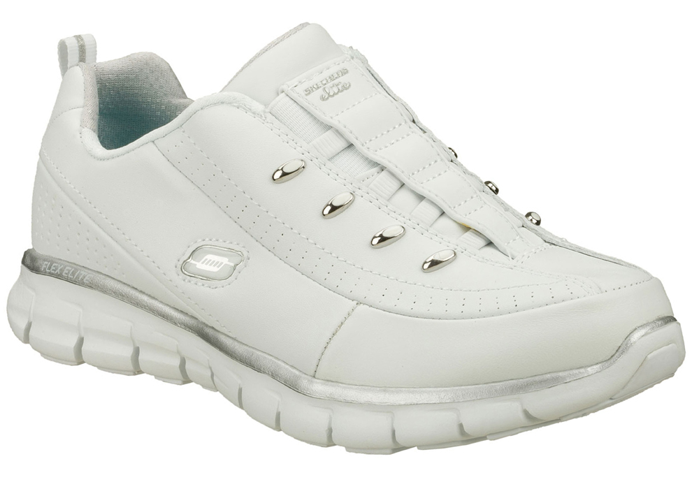 Skechers Nursing Shoes White