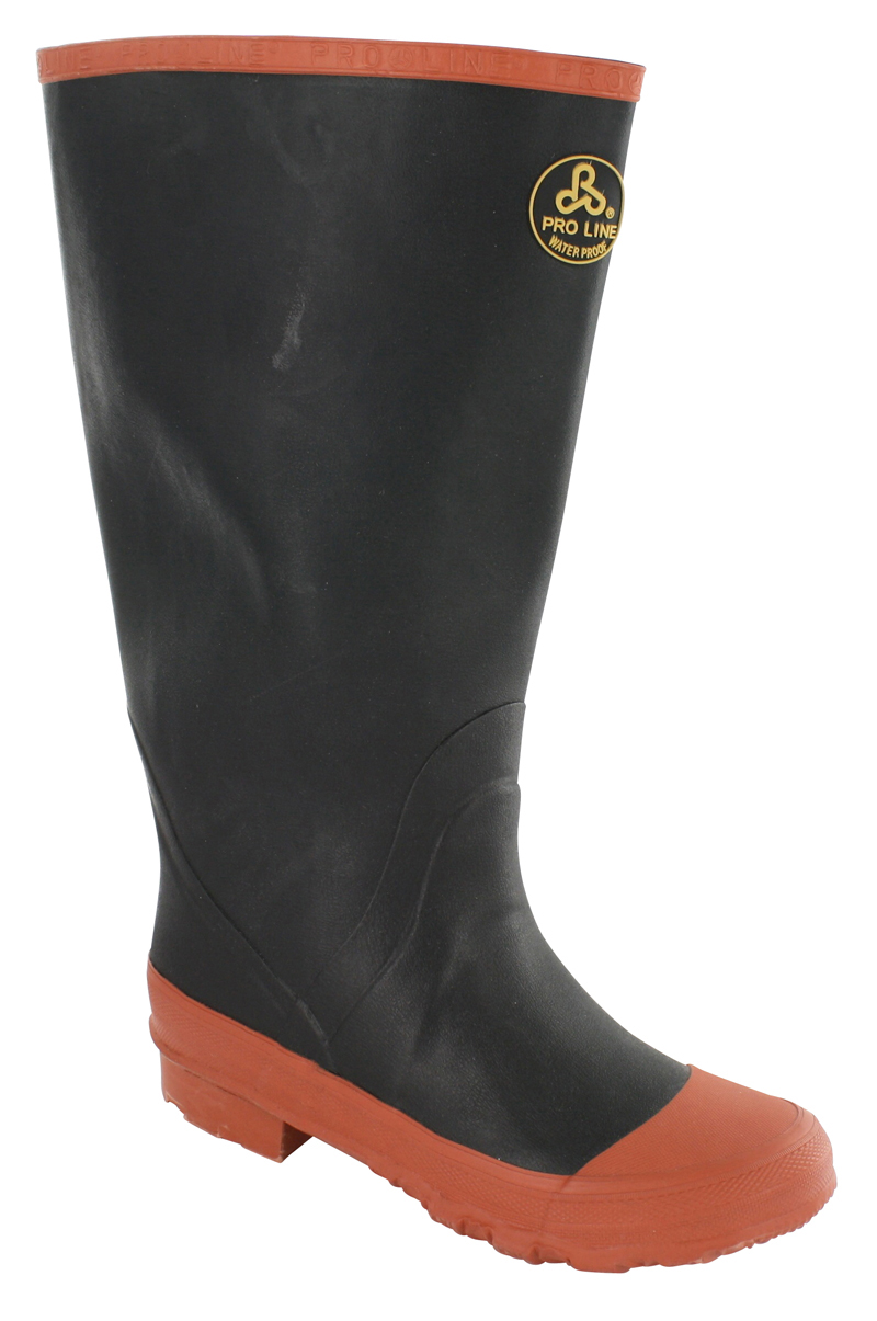 best service 84f2a ea9a6 Boys Pro Line Knee Boot Black with Red Sole
