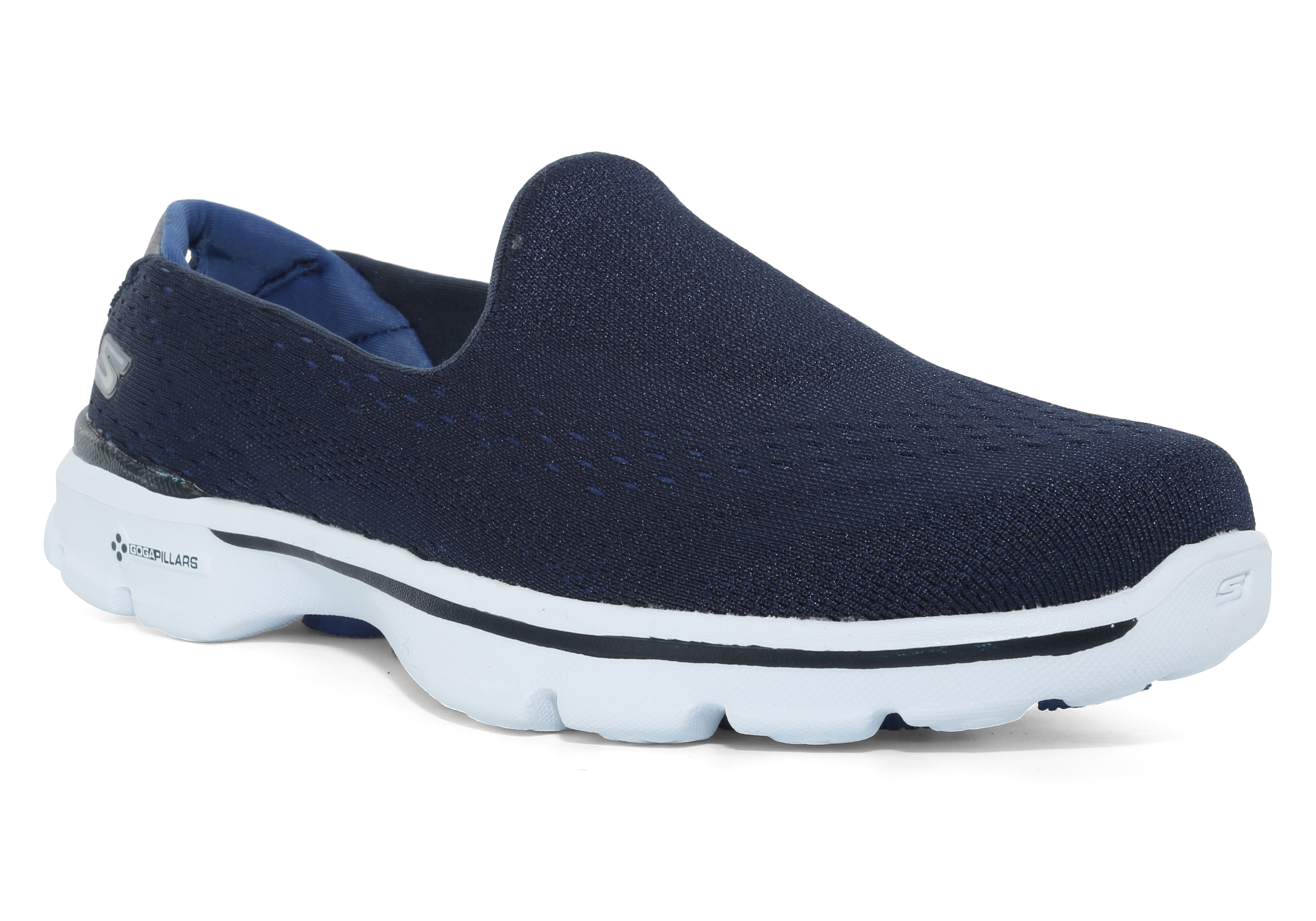 7d79ab96cfd7 Buy skechers go walk navy blue   OFF72% Discounted