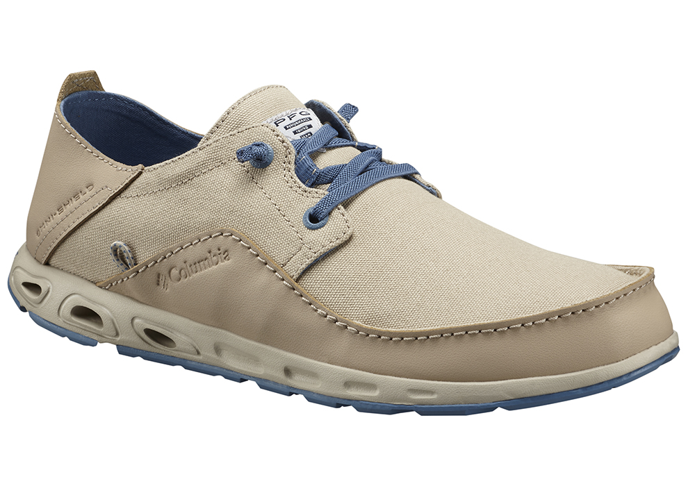 Mens Columbia Bahama Vent Relaxed Pfg Oxford Ancient Fossil