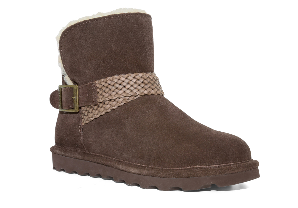 Womens Bearpaw Brienne 6 Quot Pull On Boot Chocolate