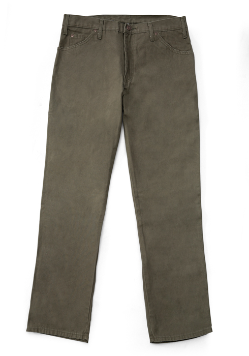 Mens Dickies Relaxed Fit Dungaree Moss